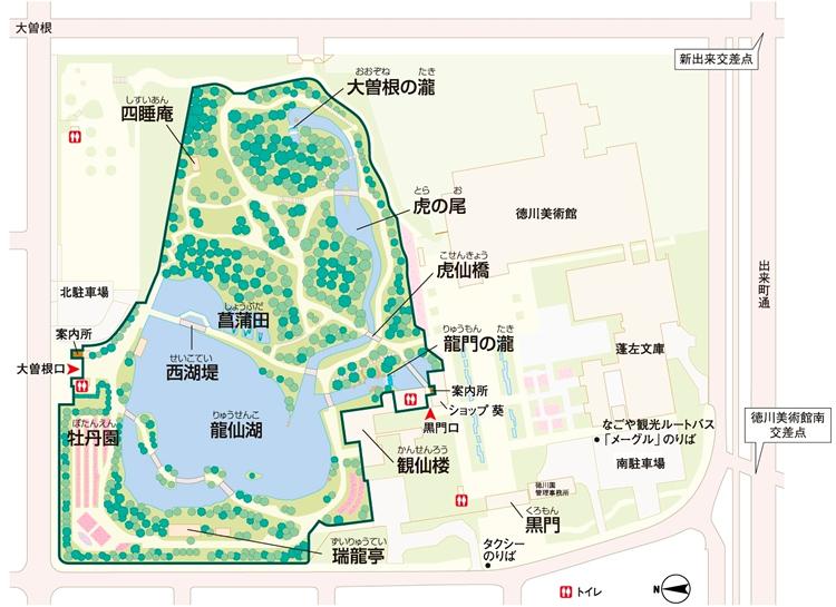 徳川園MAP